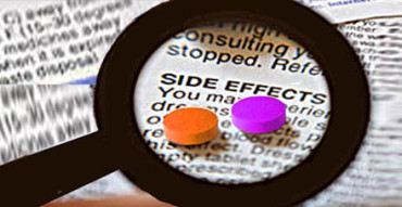 Rx prescription drug side-effects